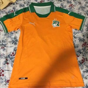 Puma soccer jersey